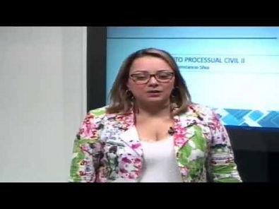 Direito Processual Civil II - Aula 4