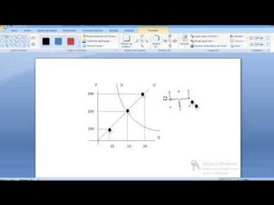Criando gráfico de economia usando o microsoft word - prof Juarez