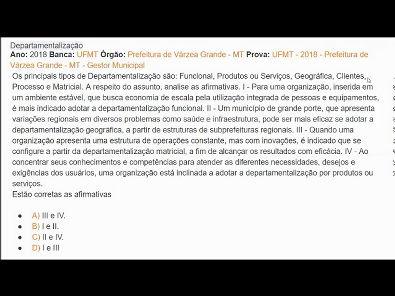 Modelos de Gestão - AULA ATIVIDADE 3 DA UNOPAR 2019 02