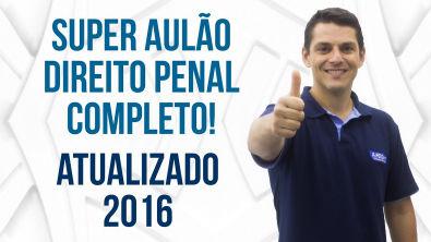 Aula de Direito Penal - Atualizado 2016 - Profs Evandro Guedes e Emerson Castelo Branco - AlfaCon