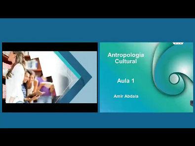 Antropologia Cultural - Aula 1