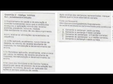 CONTABILIDADE DO SETOR PÚBLICO - prova Unopar- #prova3 #parte1