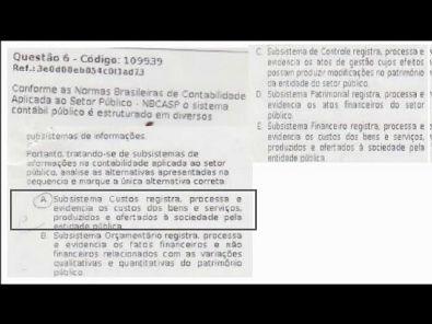 CONTABILIDADE DO SETOR PÚBLICO - prova Unopar- #prova3 #parte2