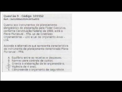 CONTABILIDADE DO SETOR PÚBLICO - prova Unopar- #prova3 #parte3