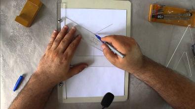 Curso Desenho Técnico Aula #1 - Perspectiva Isométrica prisma
