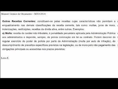 Contabilidade Pública: Questões de concurso público - tema: Receita - #parte1