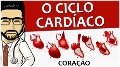 Coração 07 - Ciclo cardíaco (Fisiologia) - Vídeo aula de Sistema circulatório