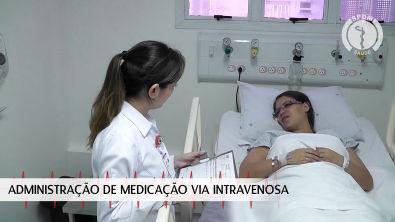Administração de Medicação Via Intravenosa