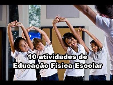 10 atividades de Educação Física Escolar