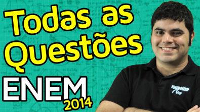 TODAS AS QUESTÕES DE MATEMÁTICA DO ENEM 2014 RESOLVIDAS | Matemática Rio