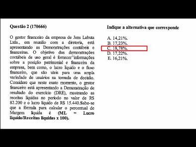 CAPITAL DE GIRO E ANÁLISE FINANCEIRA - PROVA UNOPAR - #PROVA2 #PARTE1