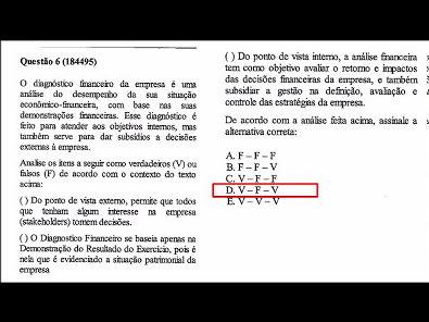 CAPITAL DE GIRO E ANÁLISE FINANCEIRA - PROVA UNOPAR - #PROVA2 #PARTE2