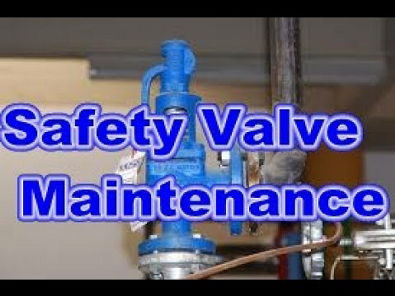 صيانة صمام الامان Safety Valve|Maintenance|Overhaul|Testing|Assembly