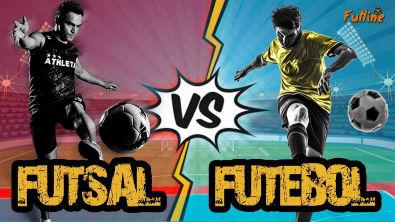 FUTSAL VS FUTEBOL - Diferenças Entre Futsal e Futebol