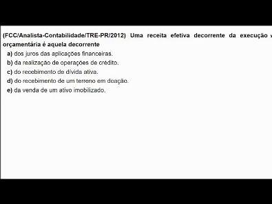Contabilidade Pública: Questões de concurso público - tema: Receita - #parte3
