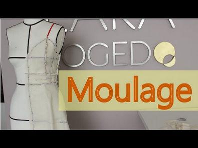 Técnicas e dicas da Moulage: vestido com alcinha, recorte, pala e saia evasê