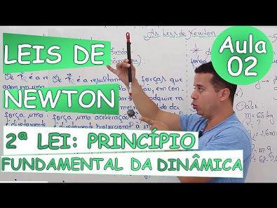As Leis de Newton -(Princípio da Dinâmica)