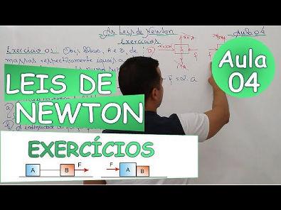 As Leis de Newton - Aula 04 (Exercícios Básicos 1)