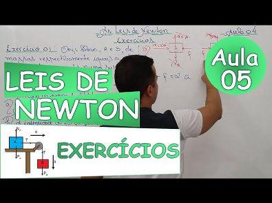 As Leis de Newton - (Exercícios Básicos 2)