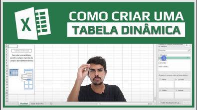 Tabela Dinâmica - Como fazer Tabela Dinâmica Excel em 5 passos!