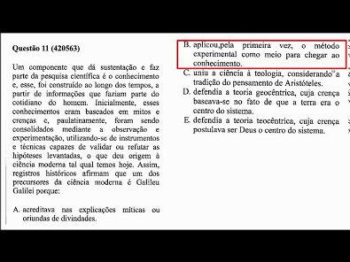 METODOLOGIA CIENTÍFICA - prova Unopar- #prova2 #parte3