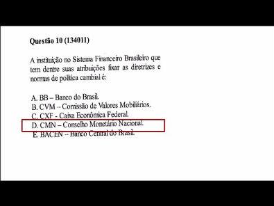 Mercado Financeiro e de Capitais - prova Unopar #prova2 #parte3