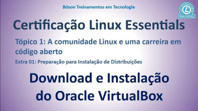 Certificação LPI Essentials - Baixar e instalar VirtualBox