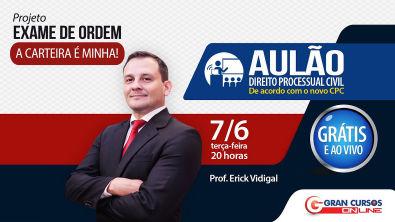 Direito Processual Civil de Acordo com o novo CPC | Erick Vidigal