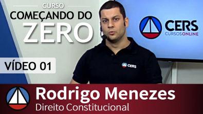 COMEÇANDO DO ZERO 2016 2 - Direito Constitucional - Aula 01 / Parte 01