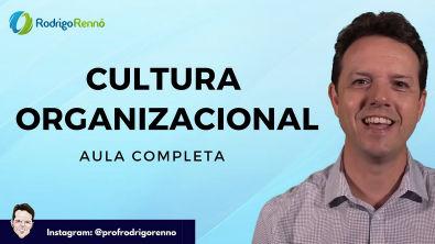 Cultura e Clima Organizacional - Aula Completa - Prof Rodrigo Rennó