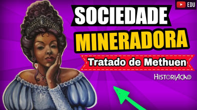 Tratado de Methuen Panos e Vinhos 1703 | Sociedade Mineradora Brasil Colonial | Resumo ENEM