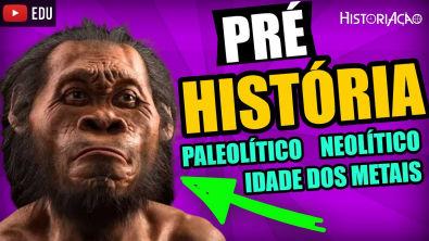 Pré-História Paleolítico Neolítico e Idade dos Metais | Idade da Pedra Lascada e Polida| Resumo ENEM