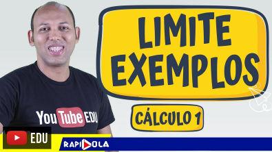 EXERCÍCIOS RESOLVIDOS DE LIMITE PASSO A PASSO - Cálculo 1 (#02)