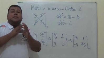 Matriz inversa de Ordem 2