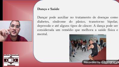 DANÇA- Vídeo aula 1 Educação Física Prof Wesley Martins IEI