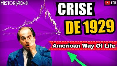 Crise de 1929 American Way Of Life | Os Loucos Anos 20 | Boom na Economia | Resumo ENEM