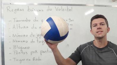 Regras do Voleibol - Aula inicial do vôlei
