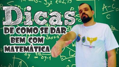 #DicasdeEstudos (05/50) | 10 dicas de como se dar bem com matemática
