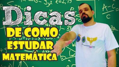 #DicasdeEstudos (09/50) | 15 dicas de como estudar matemática