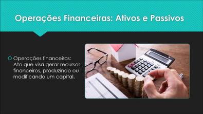 Introdução Operações Financeiras