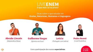 Live ENEM - O que mais cai na prova?
