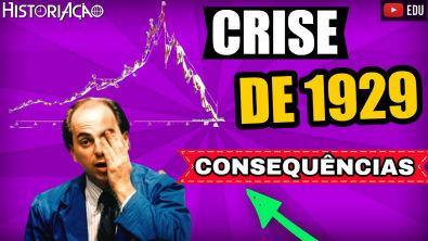 Crise de 1929 e suas Consequências | Período Entre Guerras Crise de 1929 | Resumo ENEM