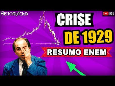 Crise de 1929 Resumo   Período Entre Guerras Crise de 1929   ENEM Vídeo Aula