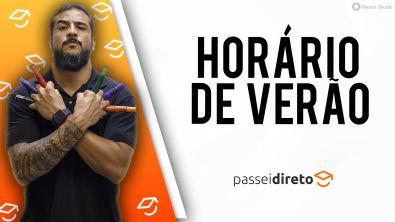 HORARIO DE VERÃO - GEOBRASIL - {Prof Rodrigo Rodrigues}