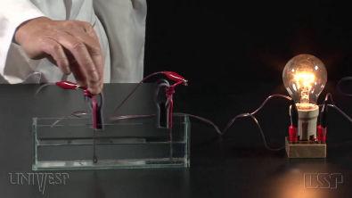 Experimentos - Condutividade elétrica da água salgada