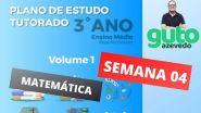 PET MG Semana 4   3º ano Ensino Médio   Matemática   Correção das atividades   Prof Guto Azevedo