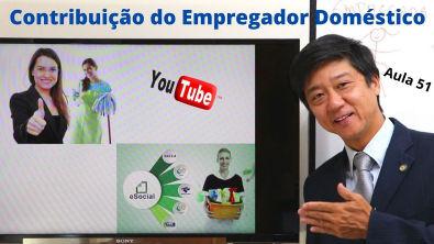 Direito Previdenciário - Contribuição do Empregador Doméstico - Aula 51 Prof Eduardo Tanaka