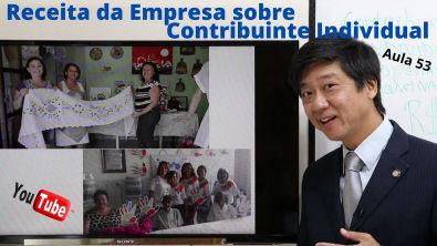 Direito Previdenciário - Receita da Empresa sobre Contribuinte Individual Aula 53 Prof Tanaka