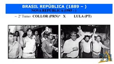 Nova República - Governo Collor de Mello (1990-1992)