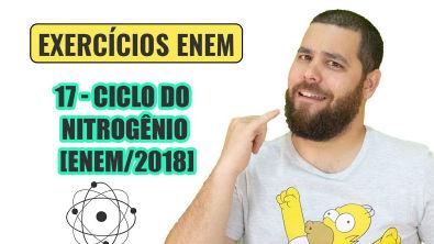 Química Simples #17 - Ciclo do Nitrogênio - [ENEM/2018]